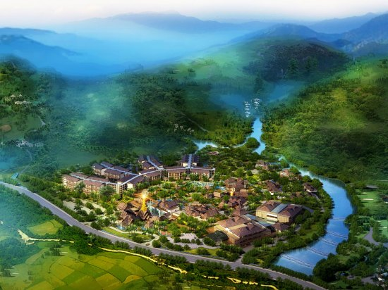 Crowne Plaza Resort Xishuangbanna Parkview  全景